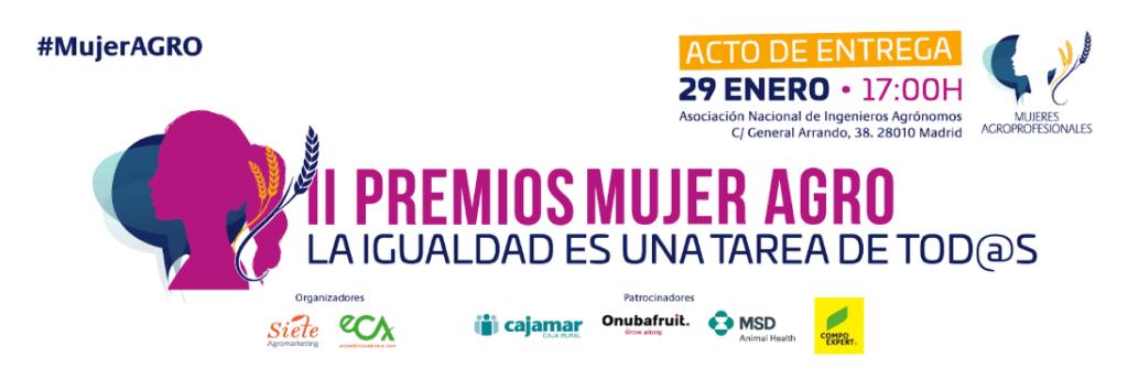 Cartel II Premios #mujerAgro