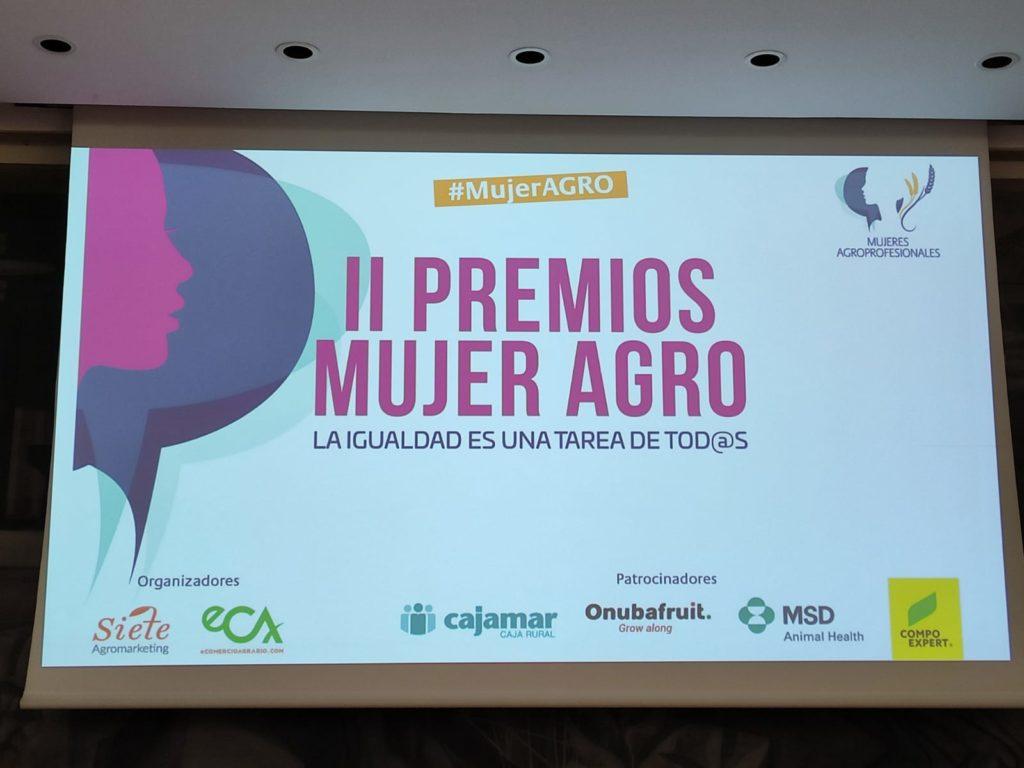 Integral Media en los II Premios #MujerAGRO